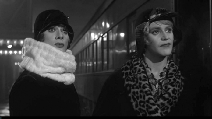 "Tony Curtis and Jack Lemmon in ""Some Like It Hot"" (United Artists, 1959)"