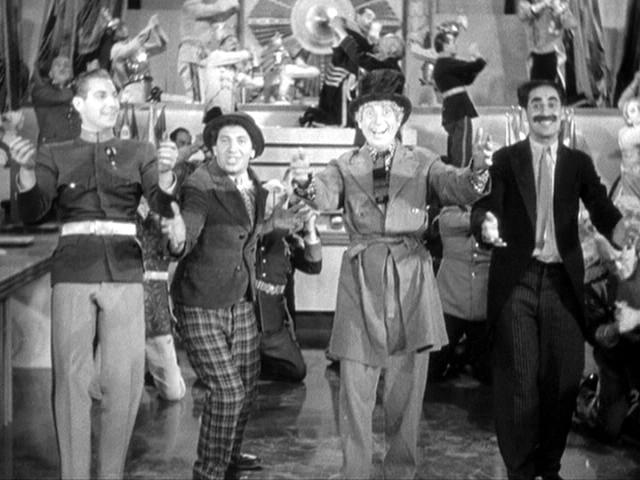 "The Marx Brothers in ""Duck Soup"" (Paramount, 1933)"