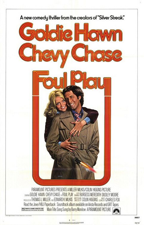 "Theatrical poster for ""Foul Play"" (Paramount, 1978)"