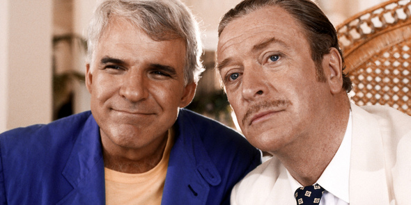 "Steve Martin and Michael Caine in ""Dirty Rotten Scoundrels"" (MGM, 1988)"