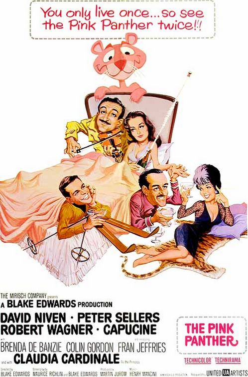 "Theatrical poster for ""The Pink Panther"" (United Artists,, 1963)"