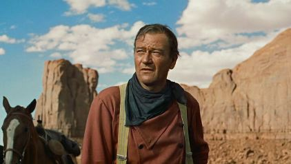 "John Wayne in ""The Searchers"" (Warner Bros., 1956)"