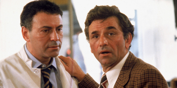 "Alan Arkin and Peter Falk in ""The In-Laws"" (Warner Bros., 1979)"