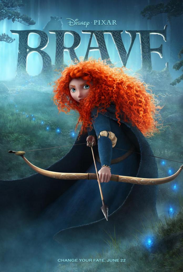 """Brave"" theatrical poster (© Disney | Pixar)"