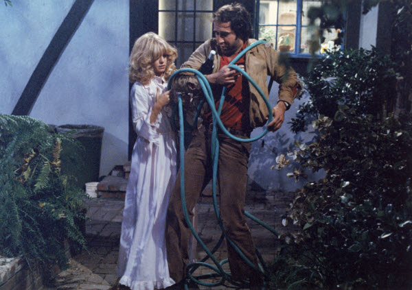 "Goldie Hawn and Chevy Chase in ""Seems Like Old Times"" (Columbia, 1980)"