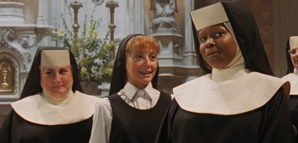 "Kathy Najimy, Wendy Makkena and Whoopi Goldberg in ""Sister Act"" (Touchstone 1992)"