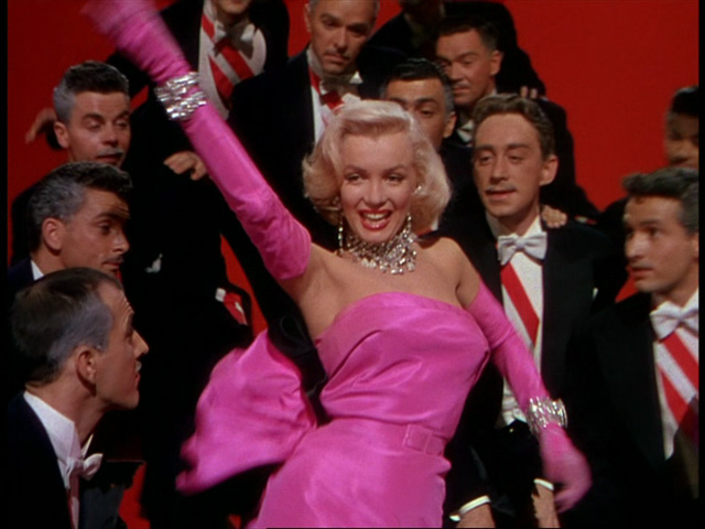 "Marilyn Monroe in ""Gentlemen Prefer Blondes"" (20th Century Fox, 1953)"