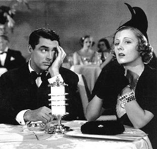 "Cary Grant and Irene Dunne in ""The Awful Truth"" (Columbia, 1937)"