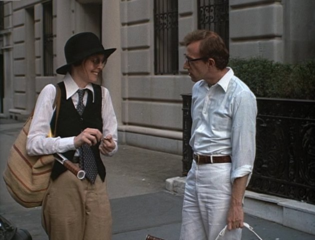 "Diane Keaton and Woody Allen in ""Annie Hall"" (United Artists, 1977)"