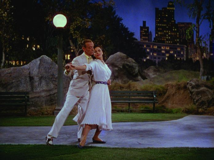 """Fred Astaire and Cyd Charisse in """"The Band Wagon"""" (MGM, 1953)"""