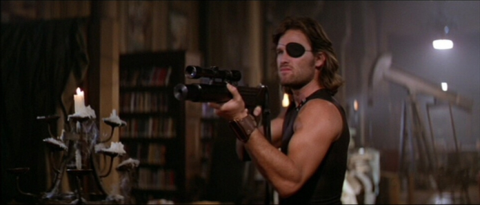 "Kurt Russell in ""Escape from New York"" (Avco Embassy Pictures, 1981)"