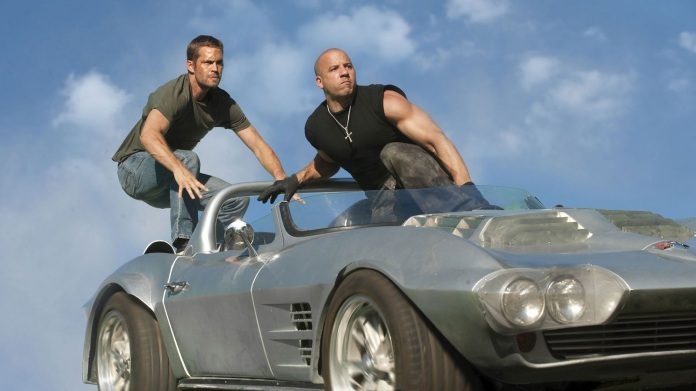 "Paul Walker and Vin Diesel in ""Fast Five"" (Universal, 2011)"