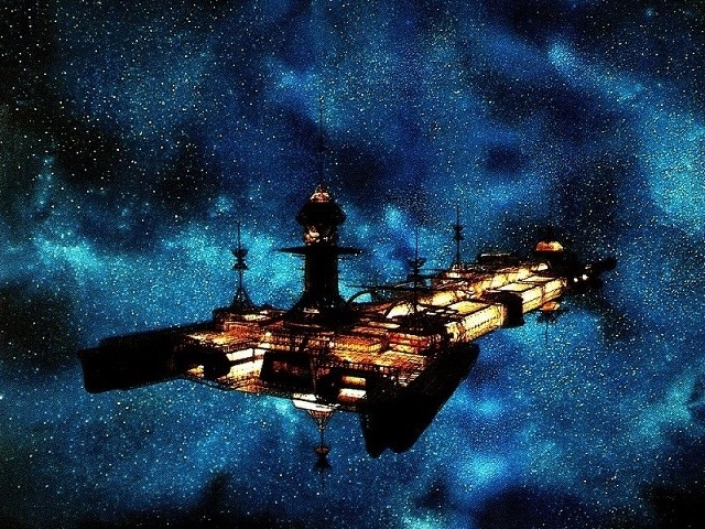 "The USS Cygnus in ""The Black Hole"" (Disney, 1979)"