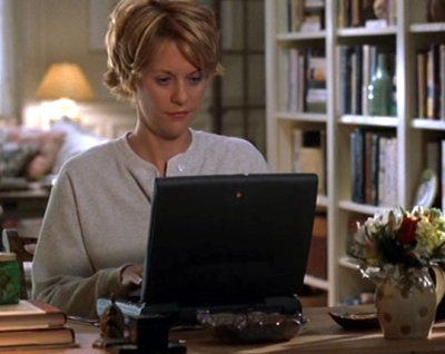 "Meg Ryan in ""You've Got Mail"" (Warner Bros., 1998)"