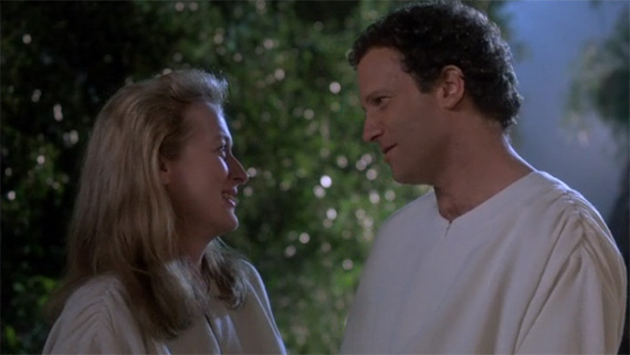 "Meryl Streep and Albert Brooks in ""Defending Your Life"" (Warner Bros./Geffen Pictures, 1991)"