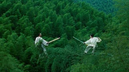 "Chow Yun-Fat and Zhang Ziyi in ""Crouching Tiger, Hidden Dragon"" (Sony Pictures Classics, 2000)"