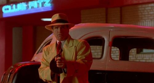 "Warren Beatty in ""Dick Tracy"" (Touchstone Pictures, 1990)"