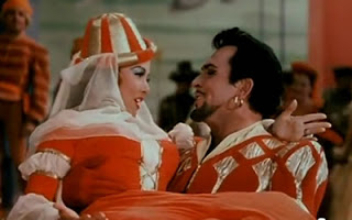 "Kathryn Grayson and Howard Keel in ""Kiss Me Kate"" (MGM, 1953)"