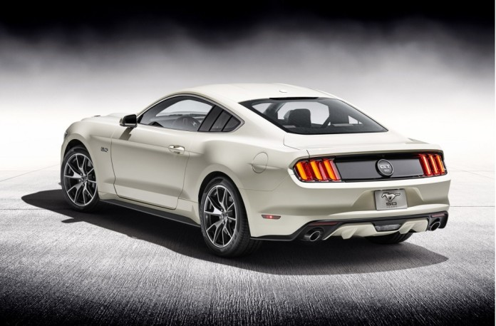 50th Anniversary Ford Mustang (Image © Ford Motor Company)