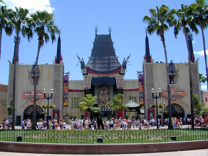 "The Chinese Theater (the park's  ""castle"")"