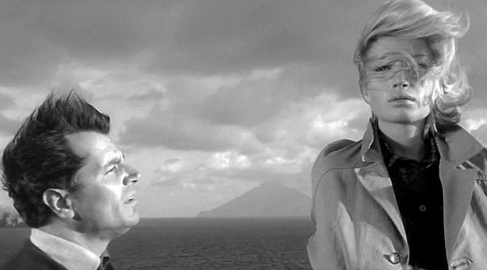 Gabriele Ferzetti and Monica Vitti in 'L'avventura' (1960)