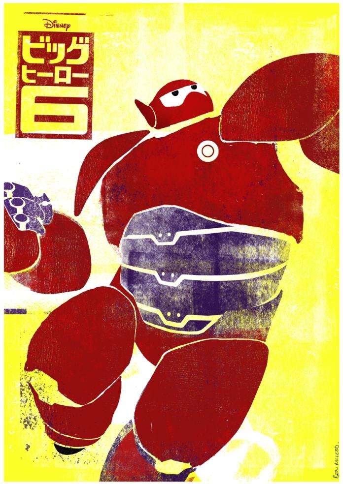 Ben Mcleod's 'Big Hero 6' Poster