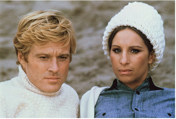 "Robert Redford and Barbra Streisand in ""The Way We Were"" (© Columbia Pictures, 1973)"